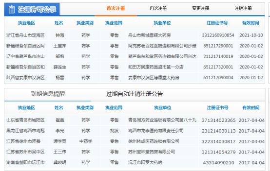 国家药监局<a href=http://www.sulaixue.com/zyys/ target=_blank class=infotextkey>执业药师</a>注册平台入口:http://zyys.nmpa.gov.cn